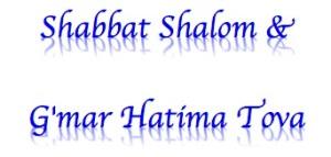 Shabbat and Yom Kippur